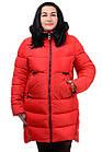 Женская зимняя куртка Модель №89 (красный), фото 4