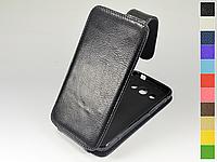 Откидной чехол из натуральной кожи для Samsung G5108 Galaxy Core Max