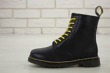 Зимние мужские ботинки dr.martens black. ТОП Реплика ААА класса., фото 3