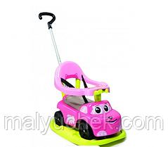 Машинка каталка для девочки 3 в 1 smoby 720614