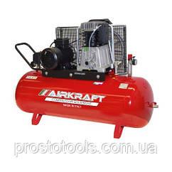 Компрессор поршневой ременной высокого давления 300л   AIRKRAFT AK300-15BAR-858-380