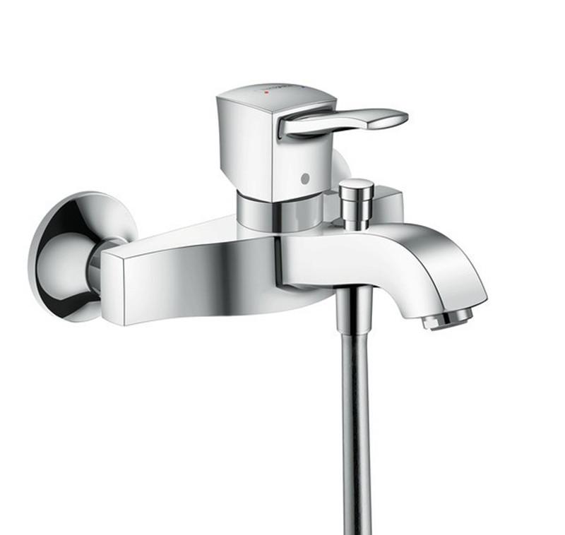 Змішувач для ванни Hansgrohe Metropol Classic  хромований
