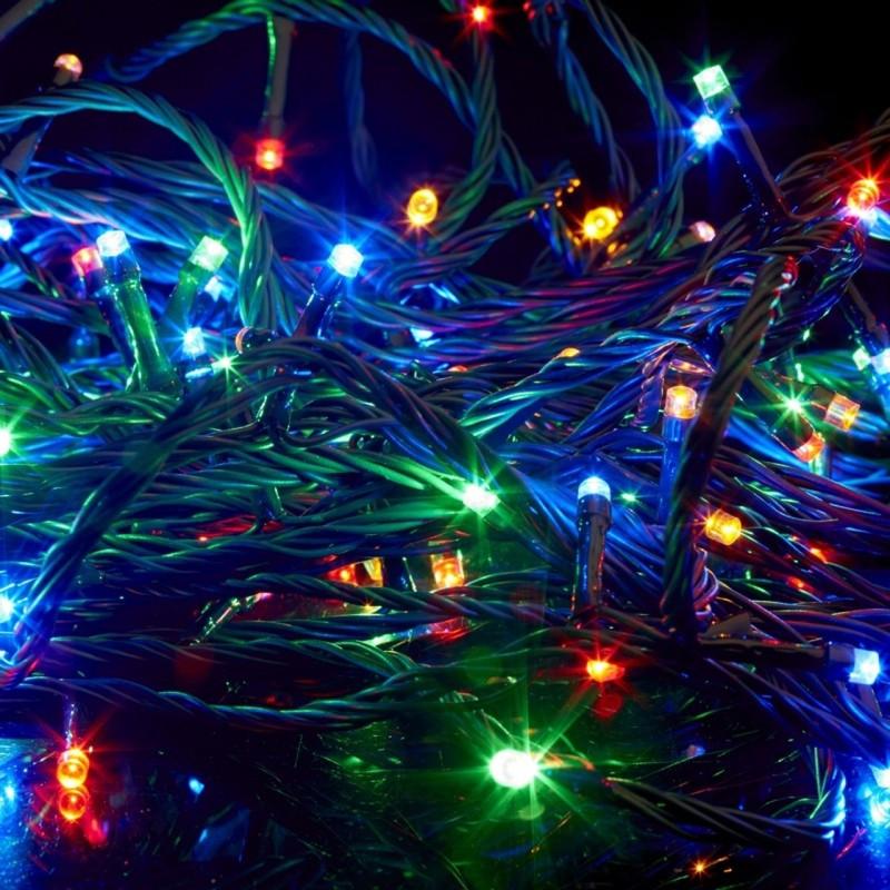 """Гирлянда светодиодная внутренняя """"Линейная"""" 16 m, 200 LED"""