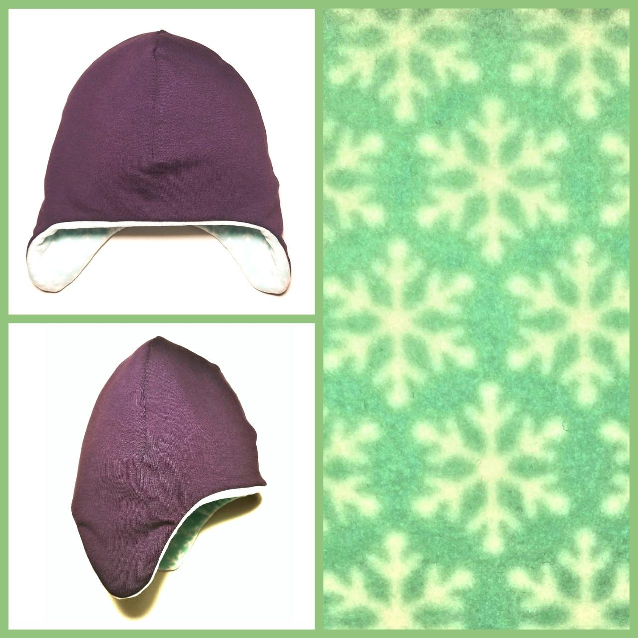 """Зимняя детская шапка """"Snowflakes"""""""