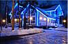 """Наружная Герметичная LED гирлянда Дюралайт """"Duralight"""" 100 метров Синий, 1800 Ламп прозрачный силиконовый шлан, фото 5"""