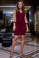Платье 1267.3886 марсала ТМ Seventeen 42-48 размеры