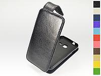 Откидной чехол из натуральной кожи для Samsung Galaxy J1 mini J105H