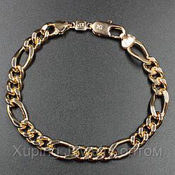 "Браслет ""Ренатус"" Xuping Jewelry (позолота). L-24 см d-0.8 см"