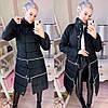 Куртка женская теплая трансформер. Разные цвета
