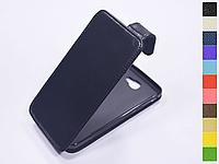 Откидной чехол из натуральной кожи для Samsung Galaxy J5 Prime G570F