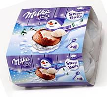 Шоколадные яйца Milka Snow Balls 112 g