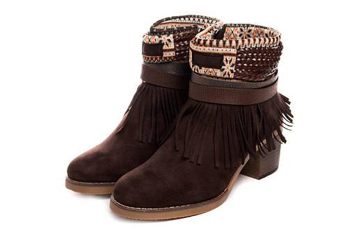 Жіночі черевики Kylie Kantri Marron 36 Brown, фото 2