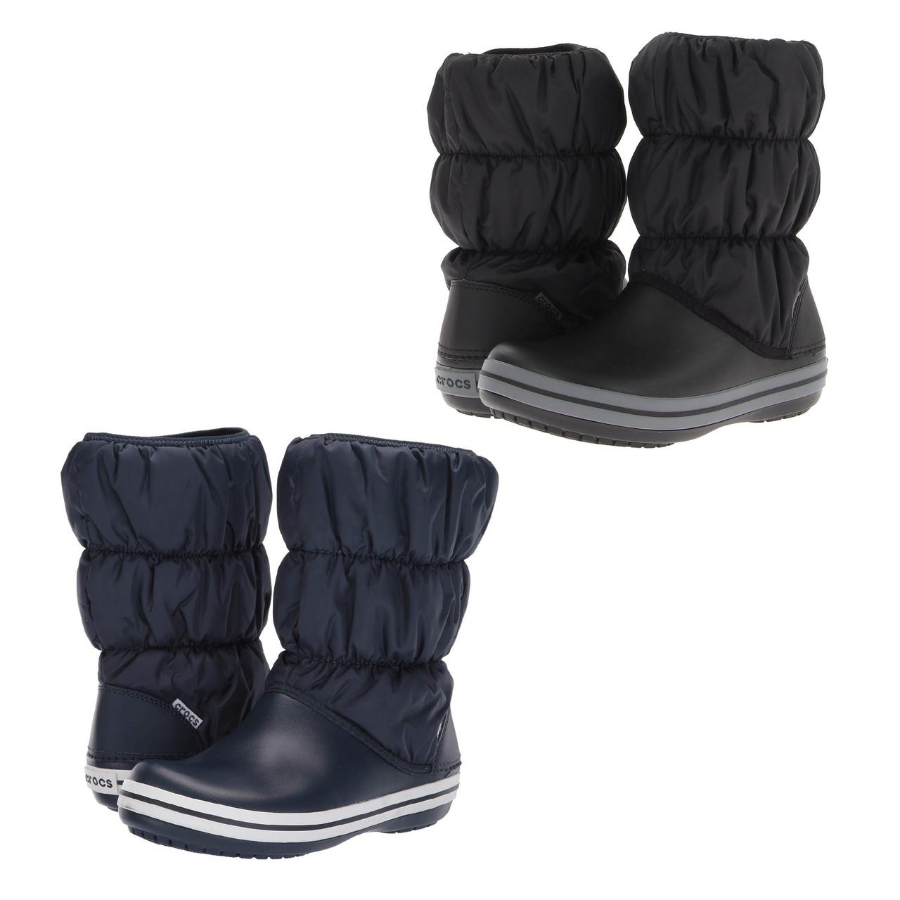 Сапоги зимние унисекс Crocs Winter Puff Boot / сноубутсы непромокаемые дутики
