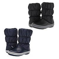 Сапоги зимние унисекс Crocs Winter Puff Boot / сноубутсы непромокаемые дутики, фото 1