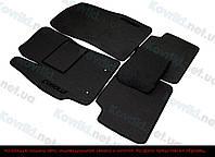 Ворсовые (тканевые) коврики в салон Volkswagen Passat, 2005-2010 (6-епок.), Европа, резиновая крошка