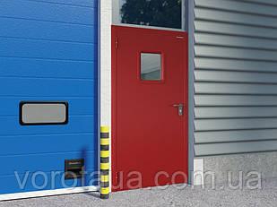 Дверь DoorHan ширина 980 мм высота 2050 Противопож. EI60/одност./глухая/глад.