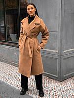 Пальто женское осень-зима АКР/-2437 - Бежевый, фото 1