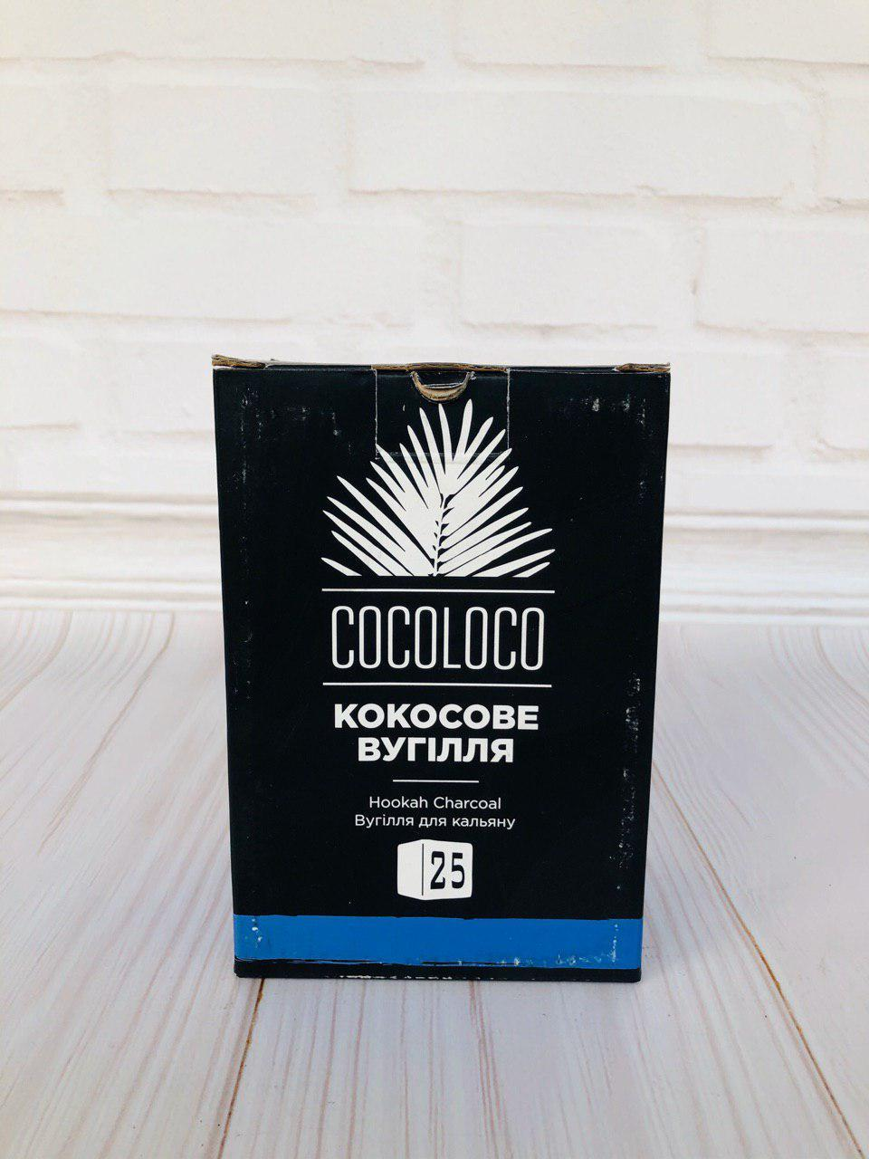 Кокосовый уголь Cocoloco для кальяна (Коколоко Хмара)