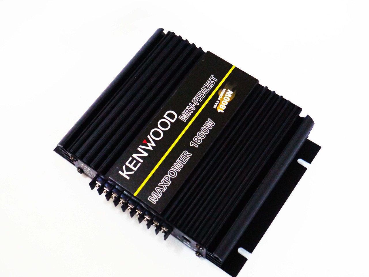 Компактный усилитель звука | Аудио усилители | Автомобильный усилитель звука Car AMP MRV 5502BT