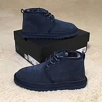 Мужские ботинки UGG (Натуральная овчина)