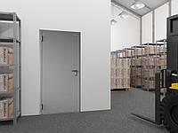 Дверь DoorHan ширина 780мм высота 2050мм Техническая одност./глухая/глад./глад