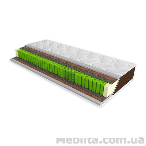 Ортопедический матрас Sleep&Fly Organic OMEGA 140х200 ЕММ, фото 2
