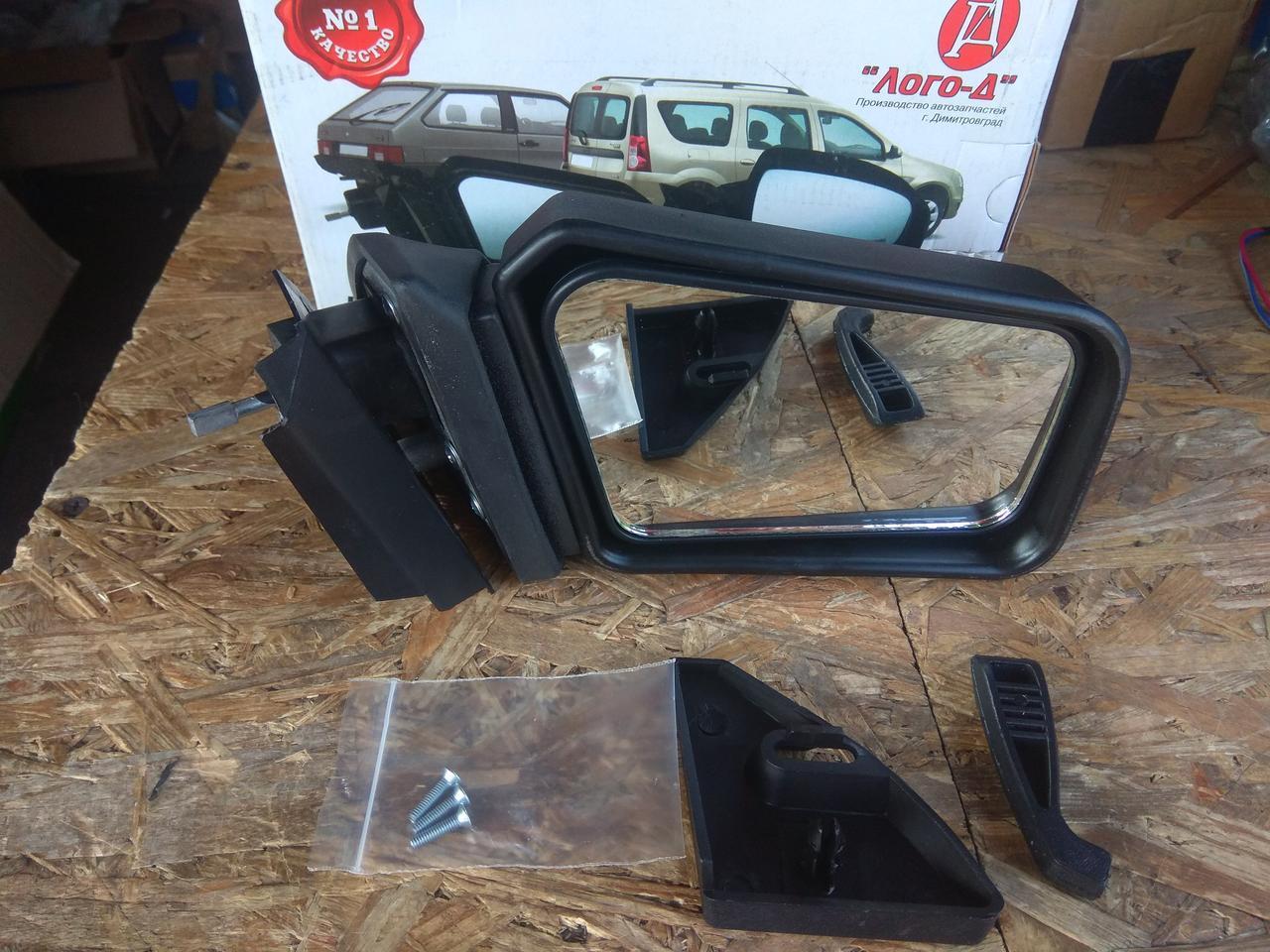 Зеркало наружное Ваз 2108, 2109, 21099 левое Лого-Д