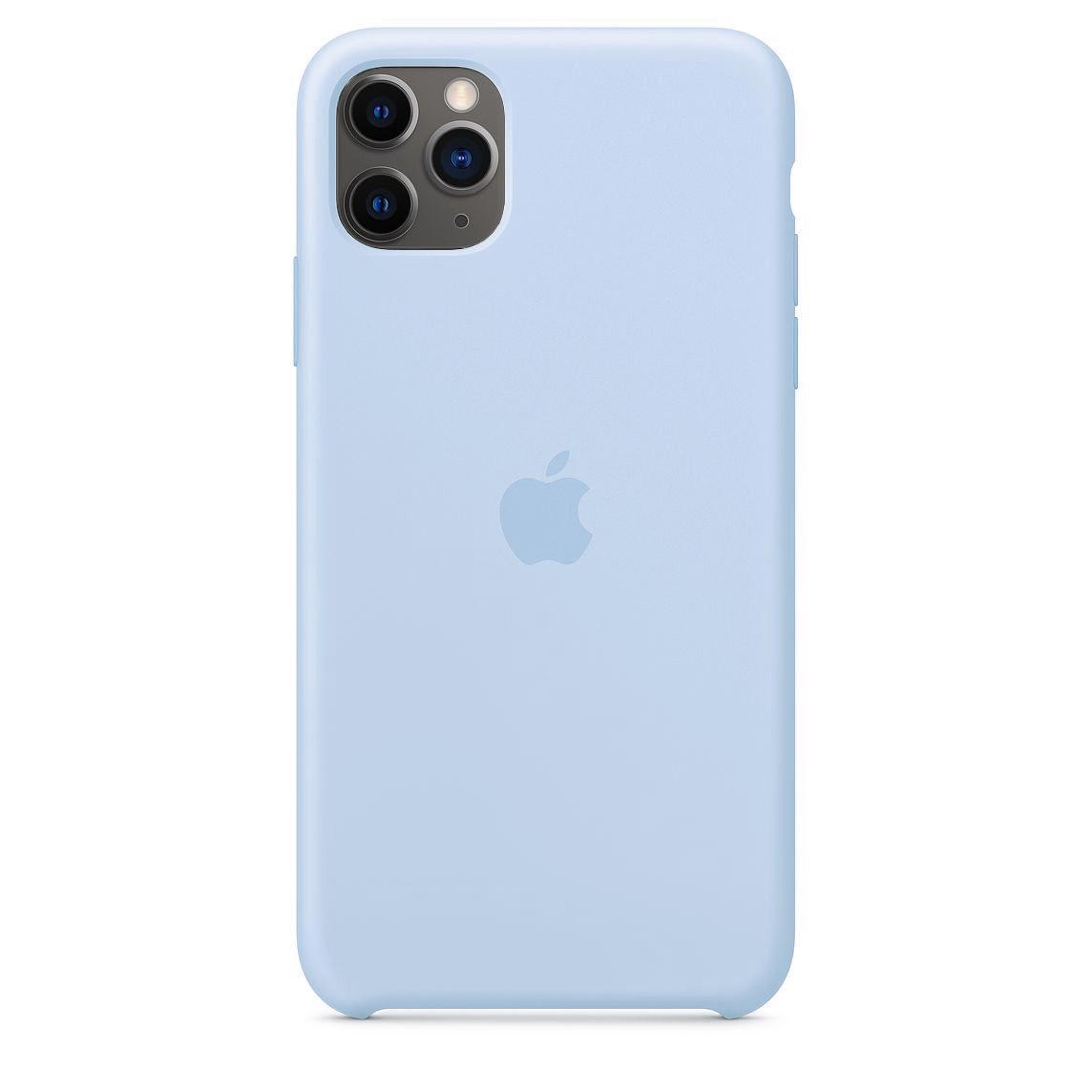 Чехол Silicone case (copy) на  iPhone 11 Pro Max Sky Blue
