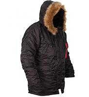 Куртка Аляска N-3B Black ORIGINAL, фото 2