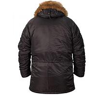 Куртка Аляска N-3B Black ORIGINAL, фото 4