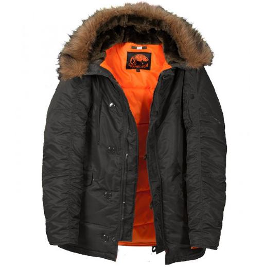 Куртка Аляска N-3B Black ORIGINAL