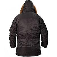 Куртка Аляска N-3B Black ORIGINAL, фото 5