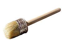 Кисть круглая деревянная 75 мм