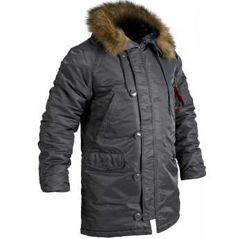 Куртка Аляска Slim Fit N-3B Gray