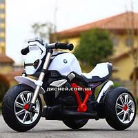 Детский мотоцикл M 3639-1 на аккумуляторе, белый