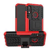 Чехол Armor Case для Honor 8A / 8 Pro Красный