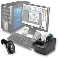 Комплект для автоматизации торговли (бутиков, небольших магазинов): принтер чеков/этикеток, сканер, программа