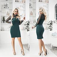 """Стильное платье мини """" Замш """" Dress Code, фото 1"""