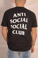 Футболка стильная с принтом anti social social club, фото 1