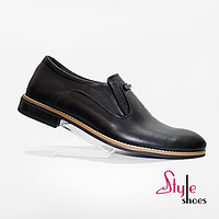 Мужские модельные кожаные туфли