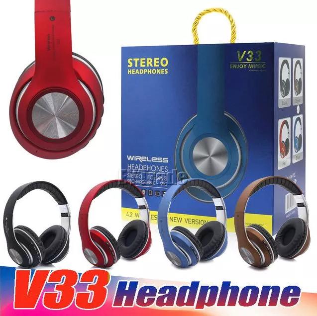 Bluetooth стерео наушники V33