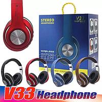 Bluetooth стерео наушники V33, фото 1