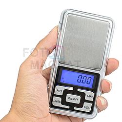 Ювелирные весы 668/MH-500 — Карманные ювелирные весы с высокой точностью 0.01