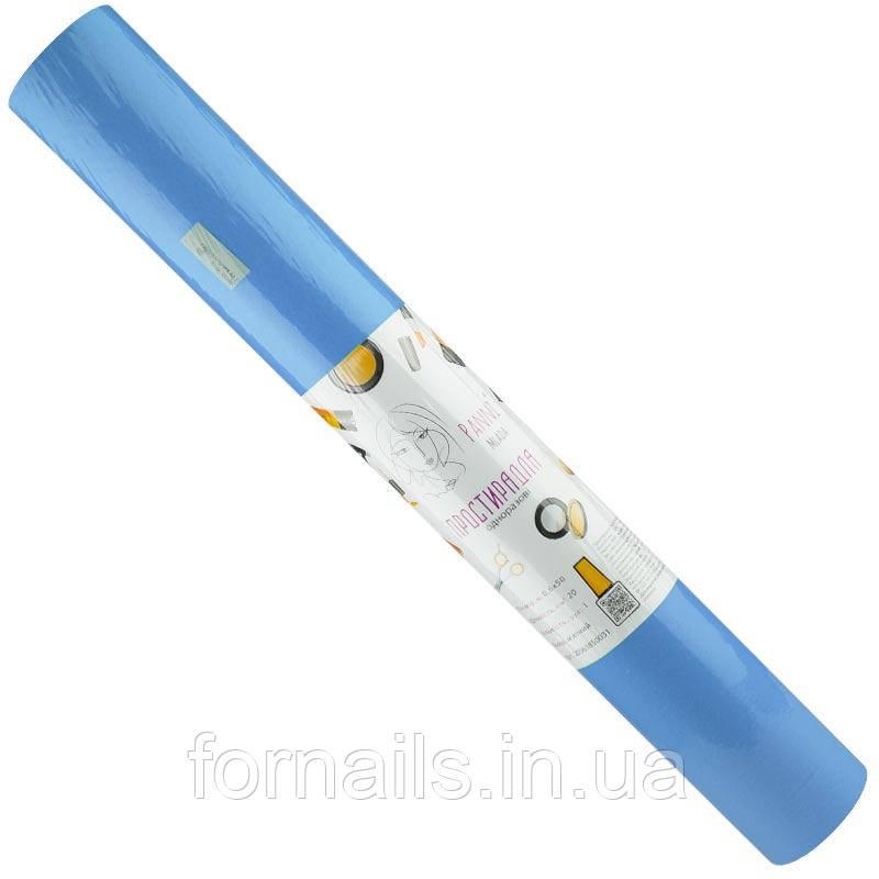 Простыни Panni Mlada в рулоне, 0.6*50м, голубой, плотность: 20г/м2