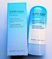Пилинг-скатка на фруктовых кислотах Missha Super Aqua D-Tox Peeling Gel