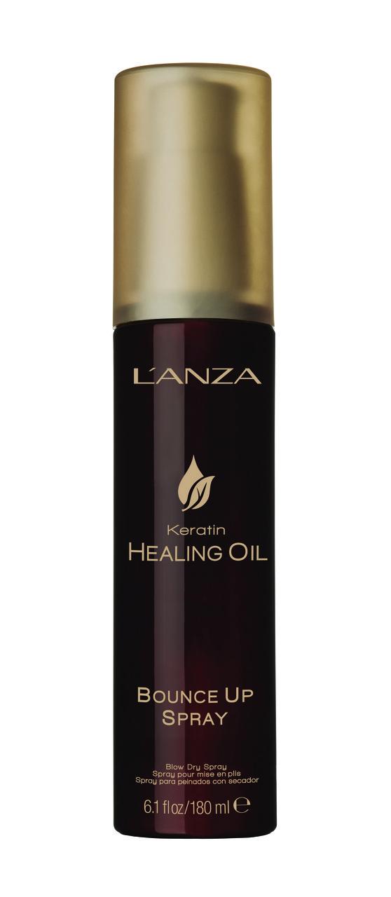 Lanza keratin healing oil bounce up spray Спрей для объемной укладки ph: 5.5, 180 мл
