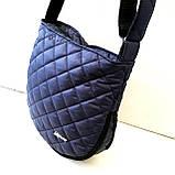 Женские стеганные сумки оптом (ЧЕРНЫЙ)30*34см, фото 4