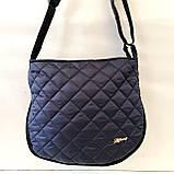Женские стеганные сумки оптом (ЧЕРНЫЙ)30*34см, фото 5