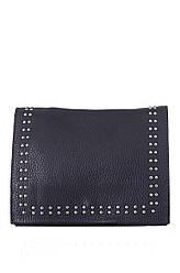 Жіноча шкіряна сумка PETURA diva's Bag колір темно-синій