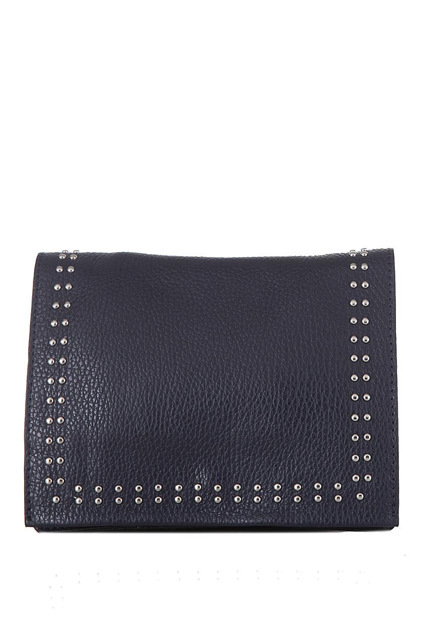 Женская кожаная сумка PETURA Diva's Bag цвет темно-синий